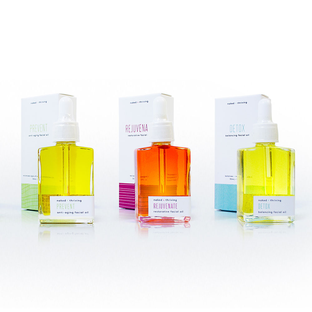 Thriving Facial Oil Set